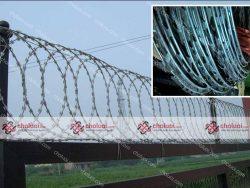 Dây thép gai hình dao hàng rào