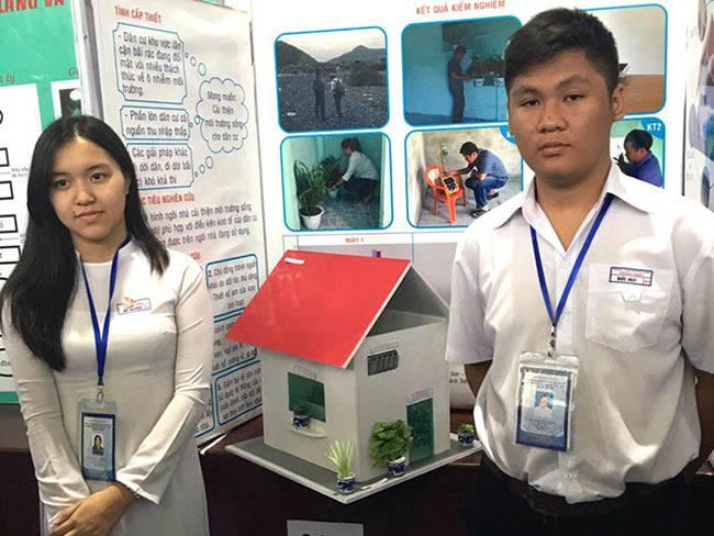 Tác giả mô hình ngôi nhà chống ô nhiễm từ bãi rác
