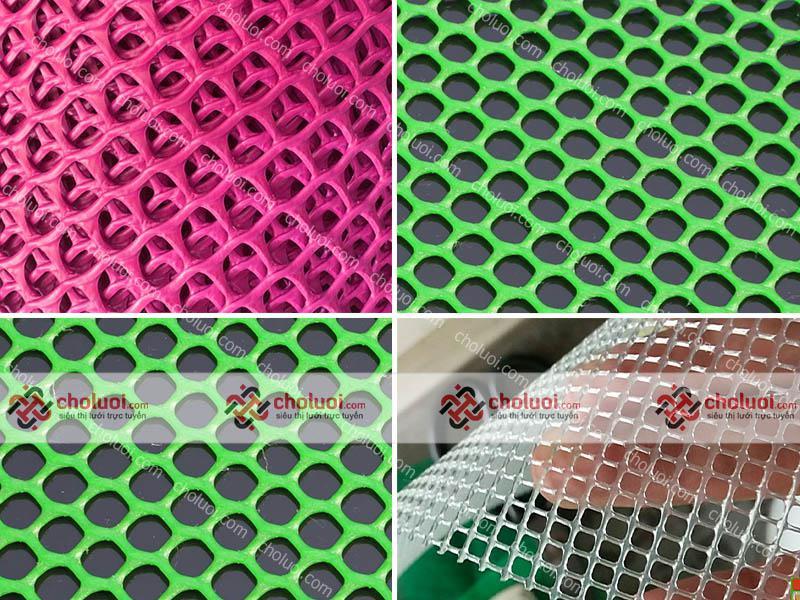 Lưới nhựa mắt cáo nhỏ