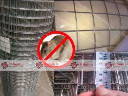 Lưới hàn chống chuột