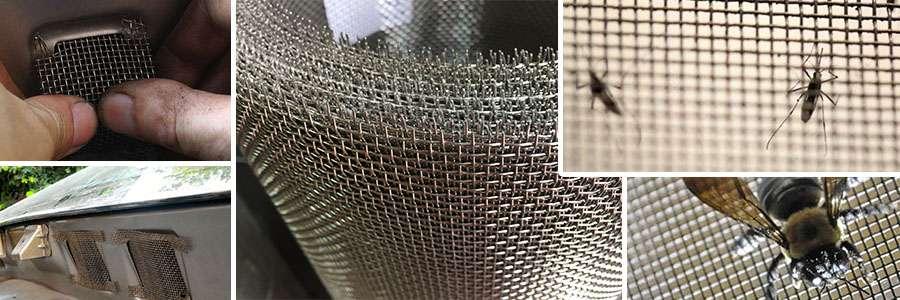 Ứng dụng lưới đan chống muỗi