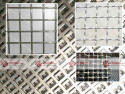 Lưới inox ô lỗ mắt vuông