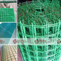 Lưới thép hàn bọc phủ nhựa