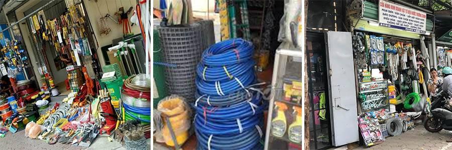 Lưới inox bán tại cửa điện nước