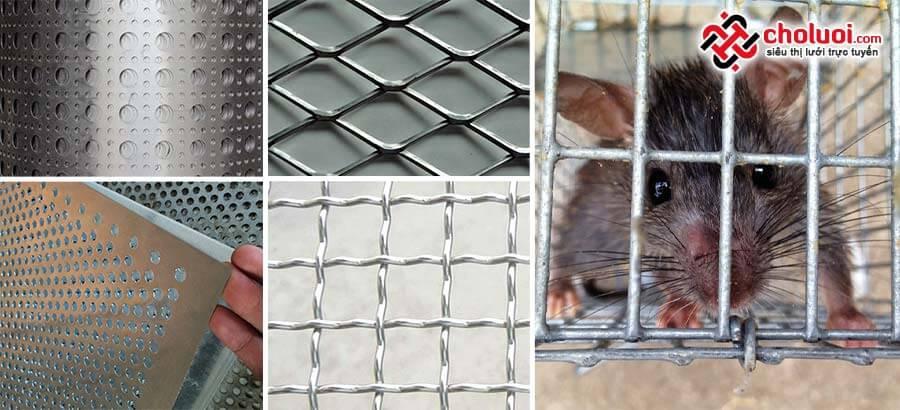 Lưới inox 201 chống chuột