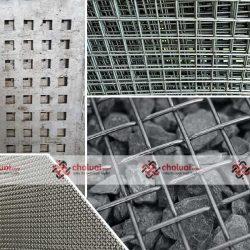 Lưới sắt ô lỗ mắt vuông